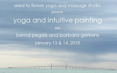 Yoga & Intuitive Painting workshop Jan 13&14 2018