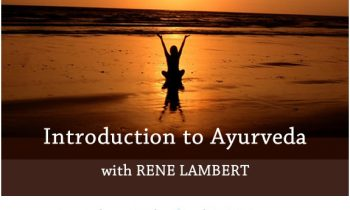 Introduction to Ayurveda August 2020