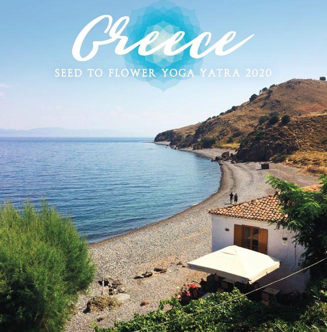 Greece – Seed to Flower Yoga Yatra 2020