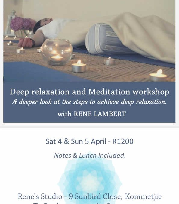 Deep relaxation and Meditation workshop