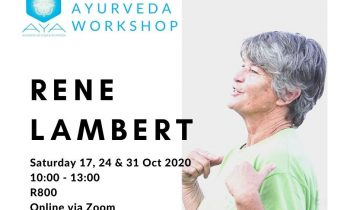 Introduction to Ayurveda Workshop – October 2020